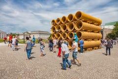 El ` de Documenta del ` en Kassel ocurre cada cinco años y dura tres meses Imágenes de archivo libres de regalías