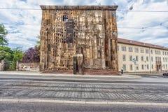 El ` de Documenta del ` en Kassel ocurre cada cinco años y dura tres meses Foto de archivo