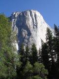 EL de escalada da parede de Yosemite capitan Imagens de Stock