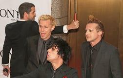 El ` de Green Day del ` llega 64.o Tony Awards anual en 2010 Foto de archivo libre de regalías