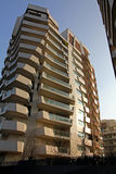 El ` de las residencias de Libeskind del ` en Citylife; Milán, Italia foto de archivo libre de regalías
