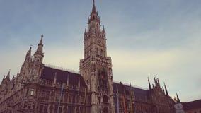 El ¼ de MÃ nchen Rathaus Fotos de archivo