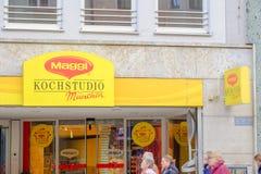 El ¼ de Maggi Kochstudio MÃ nchen Fotografía de archivo libre de regalías