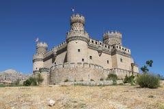 EL de Manzanares de château réel Images libres de droits