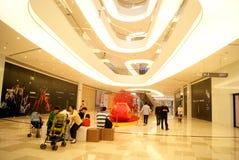 China de Shenzhen: el haiya binfen la plaza de compras de la ciudad Foto de archivo