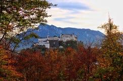 El ¼ de Sehenswà rdigkeiten en Salzburg Fotos de archivo libres de regalías