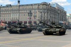 El  de T-90Ð es tanque de batalla principal ruso de tercera generación Fotografía de archivo