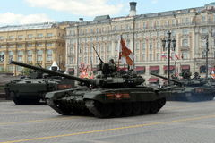 El  de T-90Ð es tanque de batalla principal ruso de tercera generación Imagenes de archivo