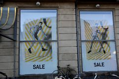 el 50% de venta en los grandes almacenes de Magasin du nord Imagen de archivo