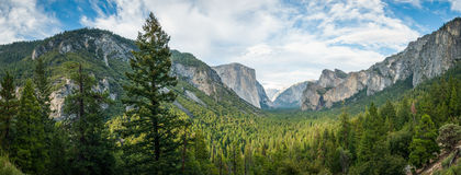 EL de Yosemite capitan Images libres de droits