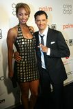 El DeBarge and Keri Hilson Stock Images