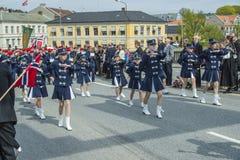 El decimoséptimo de puede, el día nacional de Noruega Imagen de archivo libre de regalías
