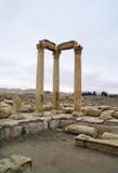 El decumanus en el Palmyra, Siria Imágenes de archivo libres de regalías