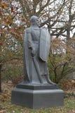 El defensor de la estatua del caballero del cementerio imágenes de archivo libres de regalías