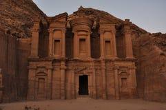 EL Deir (il monastero) Fotografia Stock Libera da Diritti