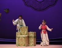 """El  del oeste de Chamber†del """"the de la ópera de los actos-Kunqu del ladrón imágenes de archivo libres de regalías"""