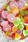 El delicioso gomoso colorido Foto de archivo