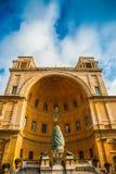 El della Pigna (la fuente de Fontana del cono del pino Imagen de archivo