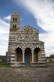 Santissima Trinita di Saccargia, Cerdeña, Italia Fotos de archivo libres de regalías