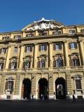El delle Finanze de Palazzo en Roma Foto de archivo