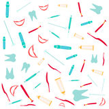 El dentista equipa el fondo Libre Illustration