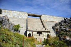 El depósito de Fresnillo, parque nacional de Sierra Grazalema, Cádiz, España imágenes de archivo libres de regalías