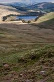 El depósito de Talybont en Brecon señala con almenara el parque nacional Fotos de archivo libres de regalías
