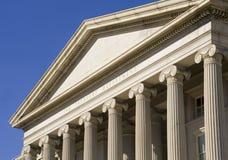 El departamento del Tesoro Fotografía de archivo