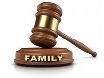 El derecho de familia Imagen de archivo libre de regalías