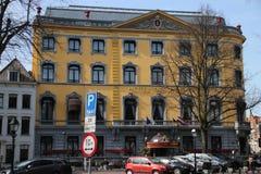 El DES Indes del hotel es uno del hotel famoso en Den Haag The Hague en los Países Bajos en donde durmieron muchos celibraties fotos de archivo libres de regalías