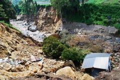 El desastre natural es un gran evento en el mundo fotos de archivo