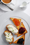 El desayuno Foto de archivo libre de regalías