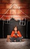 El desear la seguridad de un hogar Imagen de archivo libre de regalías