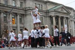 El desfile 2008 de Papá Noel Foto de archivo libre de regalías