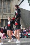 El desfile 2008 de Papá Noel Imagen de archivo