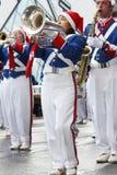 El desfile 2008 de Papá Noel Fotografía de archivo libre de regalías