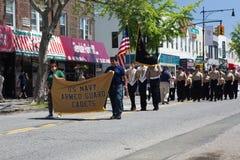 El desfile anual del D?a de los ca?dos de Ridgewood/de Glendale foto de archivo libre de regalías