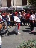 El desfile Caballos del vino 2014 Foto de archivo
