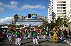 El desfile chino del Año Nuevo en Los Ángeles Imagenes de archivo