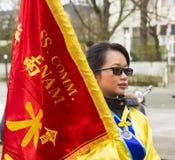 El desfile chino del Año Nuevo, París, Francia Foto de archivo