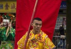 El desfile chino del Año Nuevo, París, Francia Imágenes de archivo libres de regalías