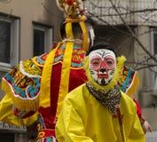 El desfile chino del Año Nuevo, París, Francia Imagenes de archivo