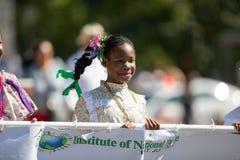 El desfile de DC de la fiesta foto de archivo libre de regalías