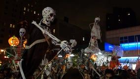 El desfile 2014 de Halloween del pueblo 133 Fotografía de archivo