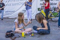 El desfile 2015 de la burbuja Fotos de archivo libres de regalías