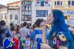 El desfile 2015 de la burbuja Fotografía de archivo libre de regalías