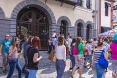 El desfile 2015 de la burbuja Foto de archivo libre de regalías