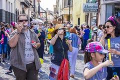 El desfile 2015 de la burbuja Fotografía de archivo