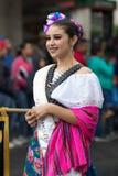 El desfile de la revolución mexicana del 20 de noviembre Foto de archivo