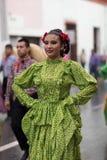 El desfile de la revolución mexicana del 20 de noviembre Imagen de archivo libre de regalías